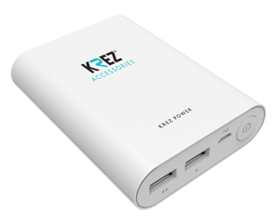 Power Bank KREZ Power LP10001W (White)
