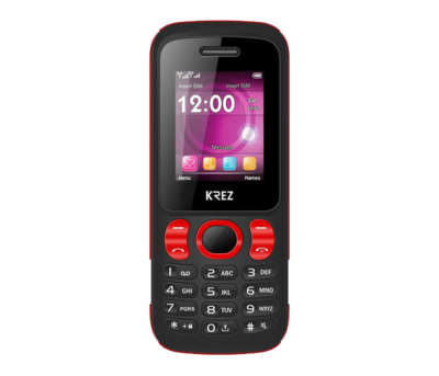 Mobile phone KREZ PL104BR DUO (black&red)