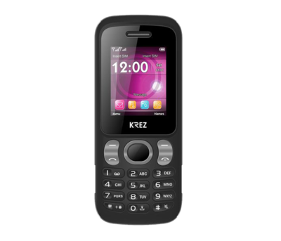 Mobile phone KREZ PL104B V DUO (black-grey)