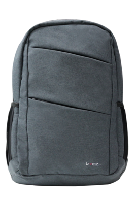 KREZ BP03 backpack, classic, 15.6, dark grey, nylon