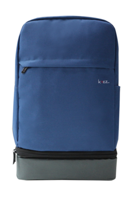 KREZ BP05 backpack, classic, 15.6, blue/grey, nylon
