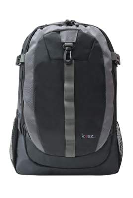 KREZ BP07 multifunctional backpack, classic, 15.6, grey, nylon
